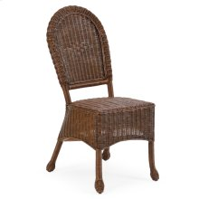 Wicker Desk Chair Coffee Bean 3711