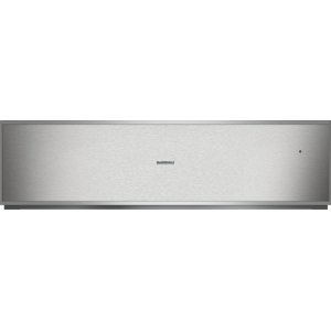 "Gaggenau400 series 400 series convection warming drawer Stainless steel-backed glass front Width 30"" (76 cm), Height 8 3/16"