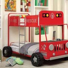 Rescuer Ii Twin/twin Bunk Bed