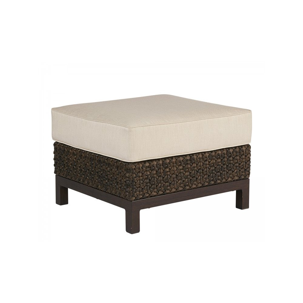Epicenters Brentwood Outdoor Wicker Ottoman