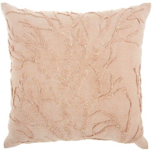"Life Styles Cr670 Blush 18"" X 18"" Throw Pillows"