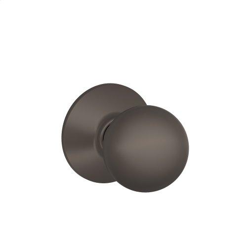 Orbit Knob Hall & Closet Lock - Oil Rubbed Bronze