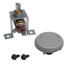 Thermostat Kit. Rated 120/240VAC, 12.5 amps. Temperature range 40° - 125° F