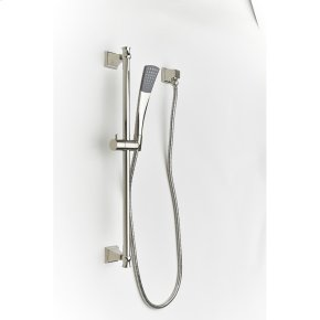 Slide Bar with Hand Shower Leyden (series 14) Polished Nickel