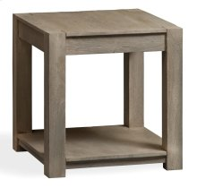 Bengal Manor Mango Wood Block Leg Square End Table
