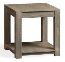 Bengal Manor Mango Wood Block Leg Square End Table