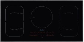 KM 6377 Induction cooktop with touch controls in maximum width for the best possible cooking and user convenience.