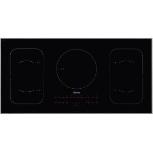 MieleKM 6377 Induction Cooktop in maximum width for the best possible cooking and user convenience.