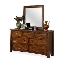 Craftsman Home Mirror Americana Oak finish