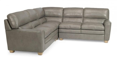Ivy Leather Sectional