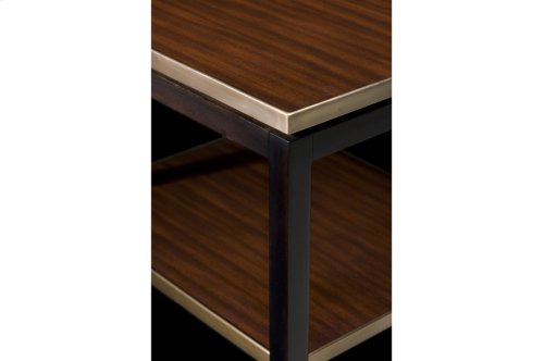 Lynx II Side Table - Acacia Veneer