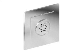 Finezza Flush-Mount Body Spray w/Solid Brass Swivel Head