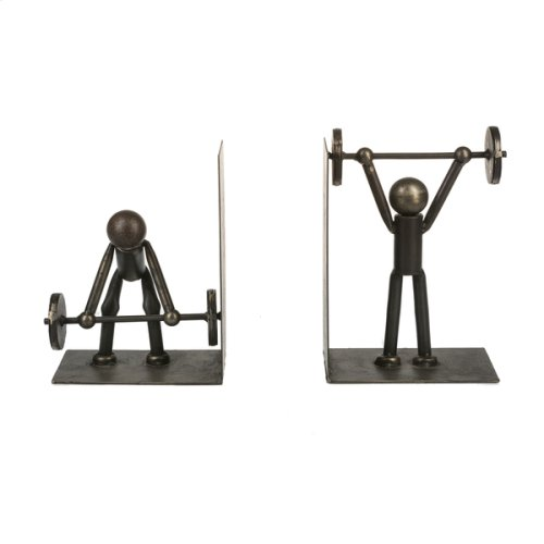 Weight Lifting Bookend Pair (1 pair)