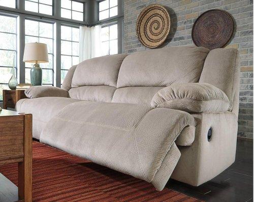 Toletta 2 Seat Reclining Power Sofa - Granite