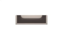 Flush Scoop Recess Amalfine In Cocoa And Satin Nickel