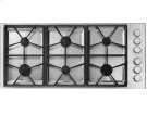 """46"""" Heritage Pro Gas Cooktop-SS Liquid Propane Product Image"""