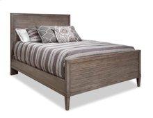 Queen Wood Slat Bed