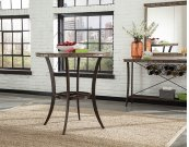 Emmons Wood Top Bistro Table