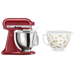 KitchenaidExclusive Holiday Stand Mixer Bundle - Empire Red