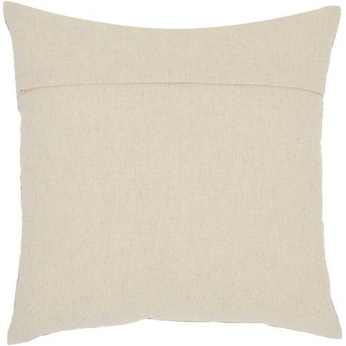 "Royal Palm Ns829 Natural 18"" X 18"" Throw Pillows"