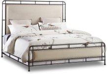 Studio 7H Slumbr Queen Metal Upholstered Bed