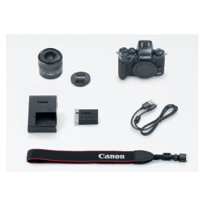 Canon EOS M5 EF-M 15-45mm f/3.5-6.3 IS STM Lens Kit EOS M Series Digital Cameras
