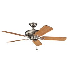 "Bentzen 52"" Fan Antique Pewter"