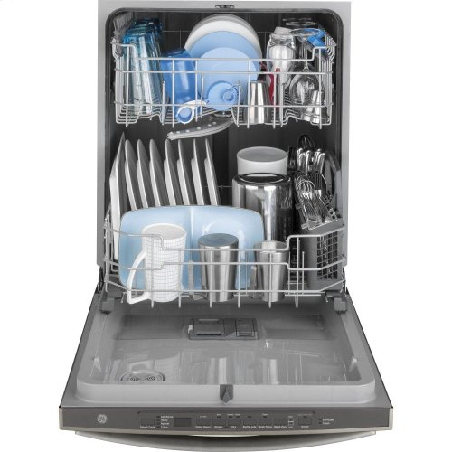 GE® Smart Dishwasher with Hidden Controls