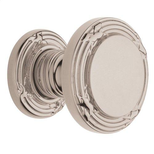 Polished Nickel with Lifetime Finish 5013 Estate Knob