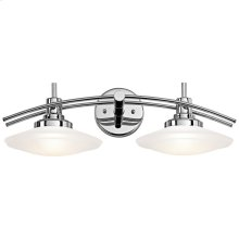Structures Collection Structures 2 light Bath Light - Chrome CH