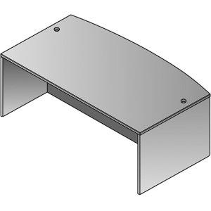 Napa Bow Top Desk Shell 72x39