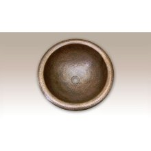 August Large Round Lavatory Sink HW-AUG1RS