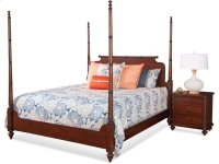 Woodhaven King Poster Bed Product Image