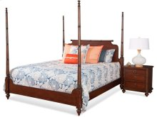 Woodhaven King Poster Bed
