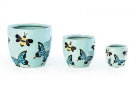 Summer Breeze Cachepot - Set of 3