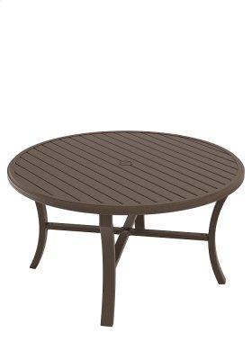 """Banchetto 54"""" Round KD Dining Umbrella Table"""