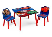 Cars Table & Chair Set with Storage - Style 1