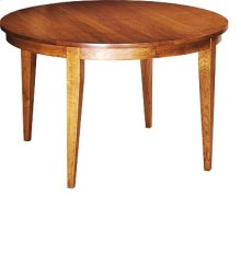 """Lakeshore 48"""" Table w/Four 12"""" Leaves"""
