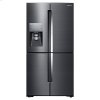 22 Cu. Ft. Food Showcase Counter Depth 4-Door Flex(tm) Refrigerator With Flexzone(tm) In Black Stainless Steel