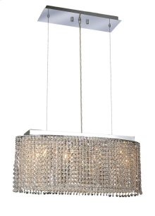 1292 Moda Collection Hanging Fixture Chrome Finish