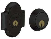 Satin Black Arched Deadbolt