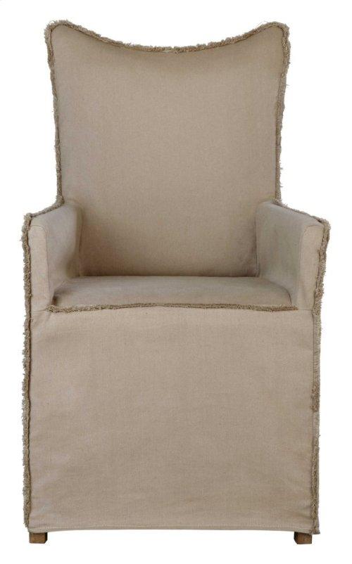 Lenore Armchairs, Khaki, 2 Per Box