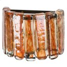 Blown Glass Orange Wall Sconce Product Image