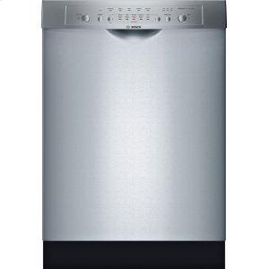 """Bosch24"""" DLX Recessed Handle Dishwasher Ascenta- Stainless steel SHE3ARL5UC"""