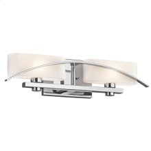 Suspension Collection Suspension 2 light Bath Light in Chrome