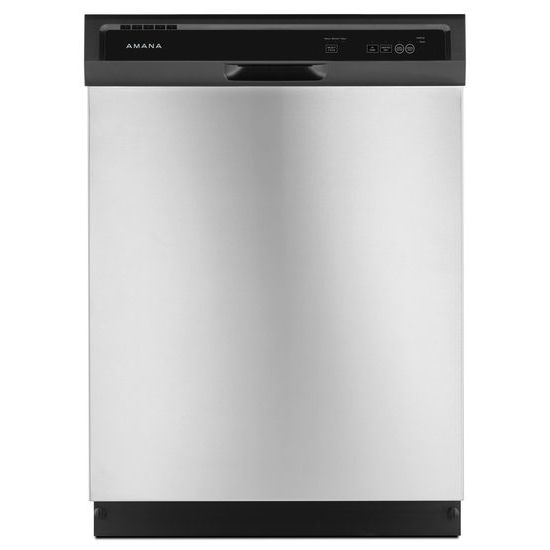 AmanaDishwasher With Triple Filter Wash System - Stainless Steel