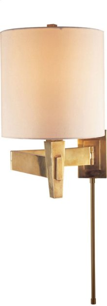 Visual Comfort PT2000HAB-S Studio Architects 22 inch 100 watt Hand-Rubbed Antique Brass Swing-Arm Wall Light
