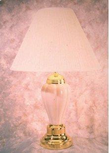 6803  Ivory Lamp - SU Shade - 2 Way Switch
