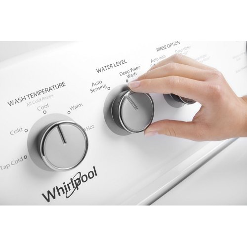 WTW4855HW in White by Whirlpool in Mora, MN - 3 8 cu  ft
