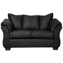 Signature Design by Ashley Darcy Loveseat in Black Microfiber [FSD-1109LS-BLK-GG]